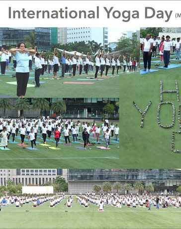 Hari Krishna Group Conducts Yoga Camp in Mumbai and Surat