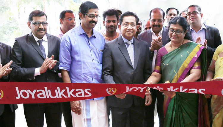 Joyalukkas Opens Two New Showrooms in Southern India