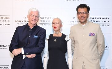 Sophia Shines Bright at the Forevermark Forum