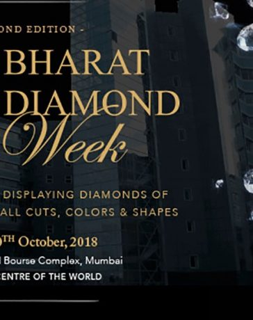 Bharat Diamond Week Set to Welcome Buyers Who Missed Out on Hong Kong Show