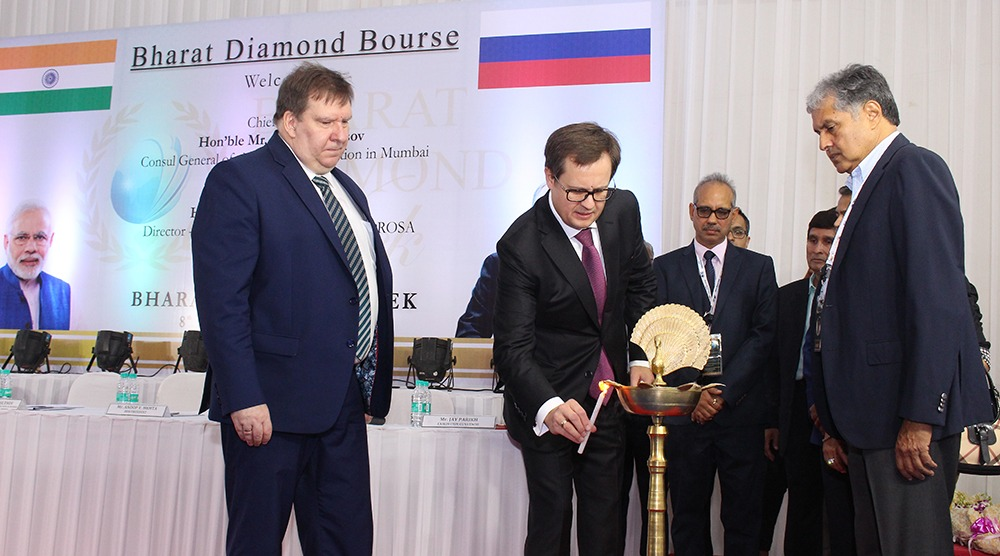Second Edition Bharat Diamond Week Ended With Success