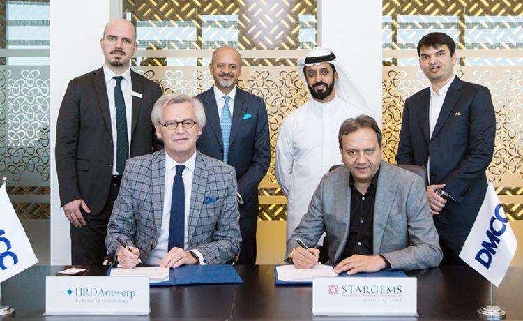 DMCC Welcomes Mou Signing Between STARGEMS DMCC and HRD Antwerp