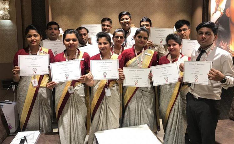 IGI Organizesan Extensive Training Program for Patel Jewellers at Mehsana. The International Gemological Institute, IGI, conducted an integrated session for the sales team and clientele of Patel Jewellers in Mehsana. The Retail Support Program is a specialized session, designed to help retail sales professional refine their skills at selling diamond jewelry and converting a purchase journey into an experience. From the 4C's- Color, Cut, Clarity and Carat weight to the nuances in grading jewelry, the session emphasized on the importance of extending the perfect retail process to the customers. The team was introduced to the novel aspects in a striking a sale, the techniques of handling a situation and analyzing the customers' needs and handling the various queries that they may have with regard to the merchandize. The art of reading an IGI report was imparted too, helping them communicate the importance of certification to the customers. The 'Know Your Diamond Jewelry' seminar was hosted for the customers of Patel Jewellers and to the Doctor's Wing of ONGC. The participants were initiated tothe journey of a diamond, the subtle aspects in jewelry and the importance of purchasing a certified jewelry as well as the standards of excellence that IGI adheres to while certifying a piece of jewelry. The International Gemological Institute, IGI, holds the supreme position in the gemological world. With a highly competent research wing and state of the art laboratories across the globe, IGI is indeed the world's most trusted name in diamond, gemstone and diamond jewelry identification and grading. The institute conducts training sessions for both retailers and their customers in order to impart education and spread awareness among diamond connoisseurs.