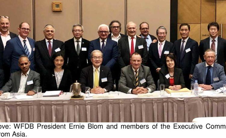 WFDB's Asian Summit-Executive Committee Meeting Debates Industry Issues in Hong Kong