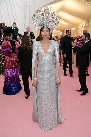 Gemma Chan in Forevermark at the 2019 Met Gala1